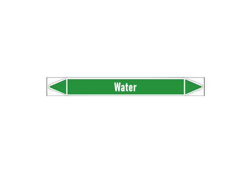 Pipe markers: Gezuiverd water | Dutch | Water