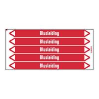 Pipe markers: Blusschuim | Dutch | Blusleiding