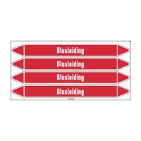 Pipe markers: Sprinkler | Dutch | Blusleiding