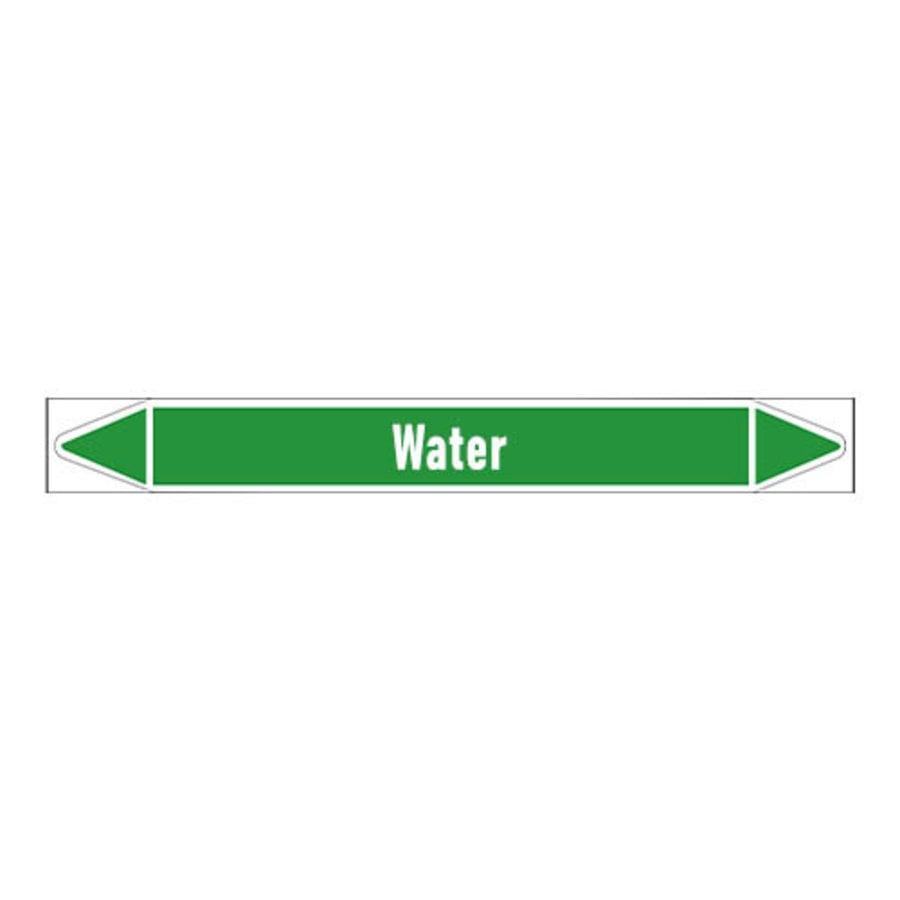 Pipe markers: Regenwater   Dutch   Water