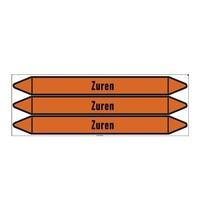 Pipe markers: Zure oplossing | Dutch | Acids