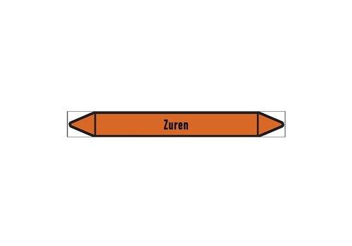Pipe markers: Zure oplossing   Dutch   Acids