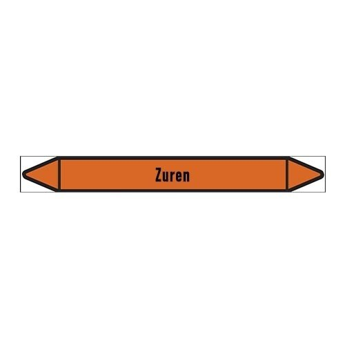 Pipe markers: Vers zuur | Dutch | Acids