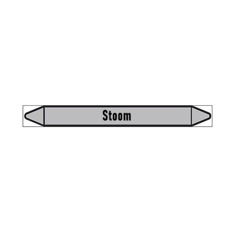 Pipe markers: stoom 8 bar   Dutch   Steam