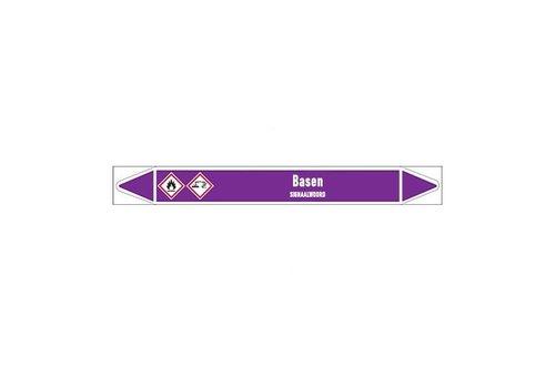 Pipe markers: NaCIO | Dutch | Alkalis