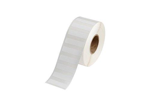 Polypropylene labels    50,80  x 12,70 mm