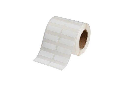 Polypropylene labels  | 38,10  x 12,70 mm