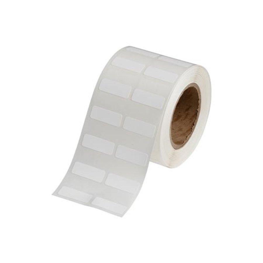Polypropylene labels  | 25,40  x 9,53 mm