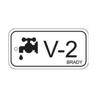Isolation point label Valves