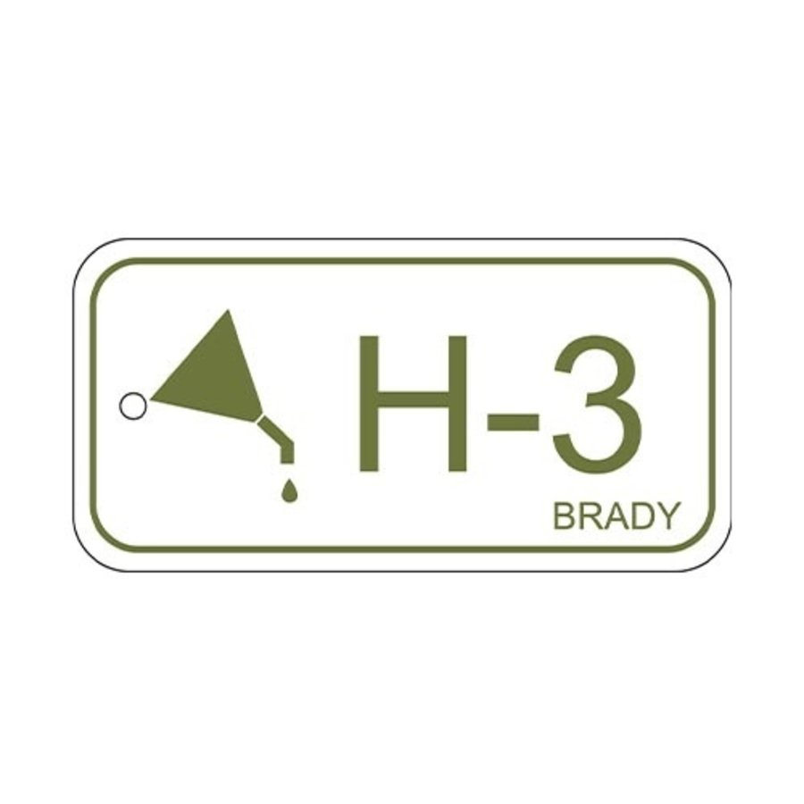 Isolation point label Hydraulic