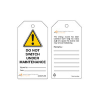 Rewritable Safety tags English Guardian Extreme (10 psc)