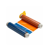 BBP85 Printer Ribbon Black, Red, Orange, Blue