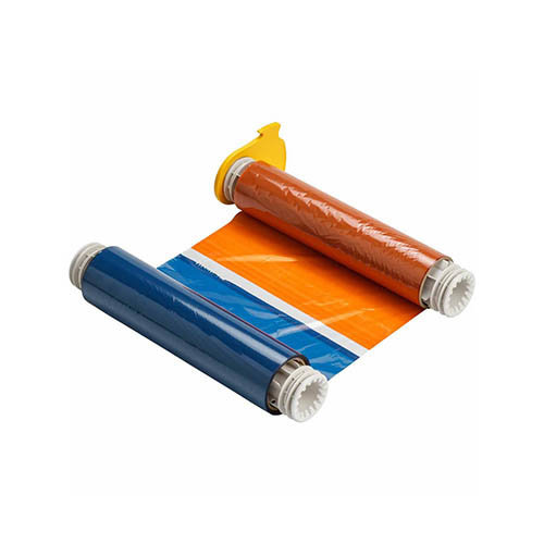 BBP85 Printer Ribbon Black, Red, Orange, Blue
