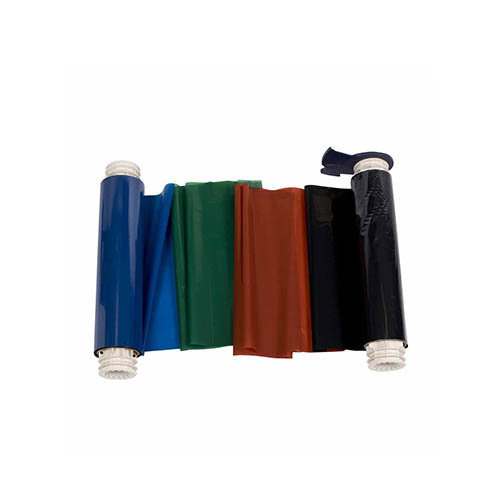 BBP85 Printer Ribbon Black, Red, Blue, Green