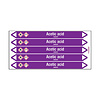 Brady Pipe markers: Acetic acid | English | Acids and Alkalis