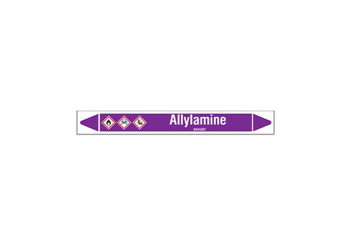 Pipe markers: Allylamine | English | Acids and Alkalis