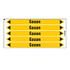 Brady Pipe markers: Inert-gas | Dutch | Gas