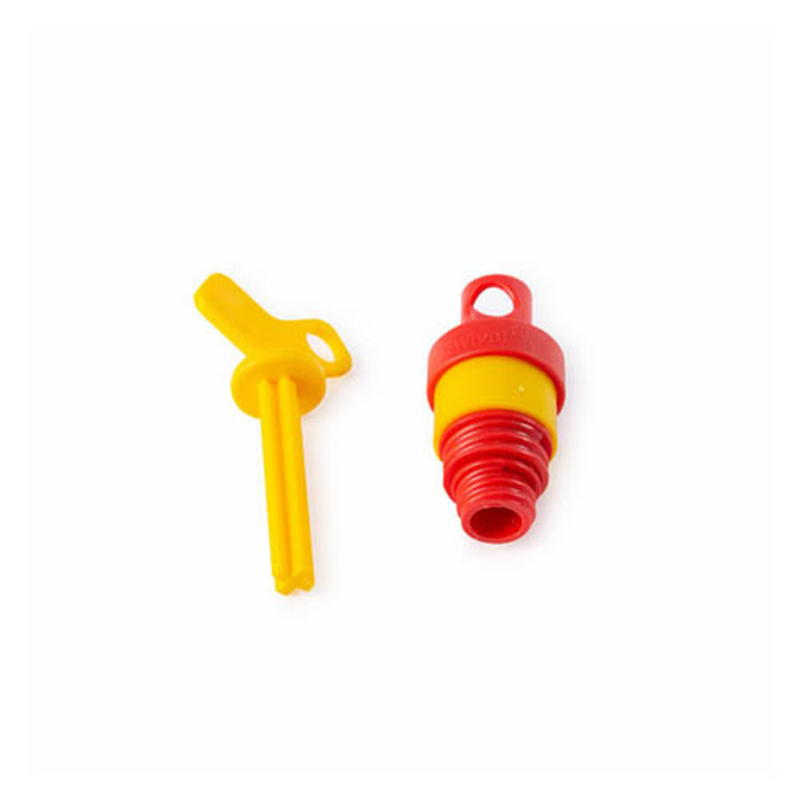 Insulation plugs with padlock facility for bottle fuses