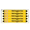 Brady Pipe markers: Kohlendioxid | German | Non-flammable gas