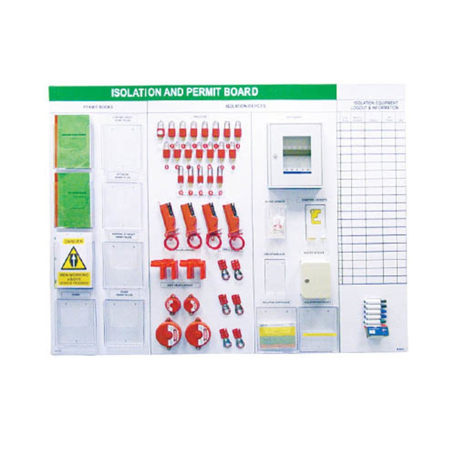 Brady Custom Lockout/Tagout Shadowboard *Price on request