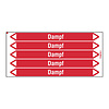 Brady Pipe markers: Dampf 5,5 bar | German | Steam