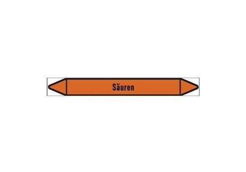 Pipe markers: Kohlensäure | German |  Acids