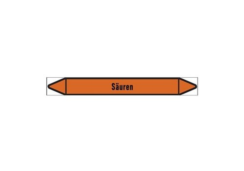 Pipe markers: Zinkelektrolyt | German |  Acids