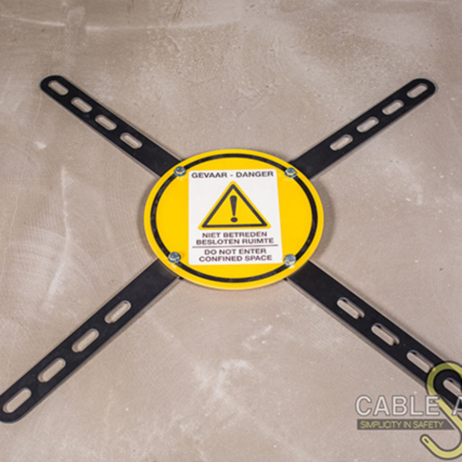 Light Duty Adjustable Barrier Confined Space