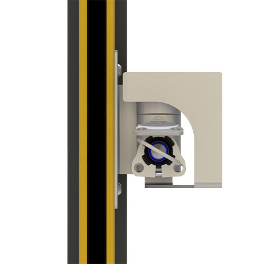 Mechanical lock-in prevention unit for safety light curtains BRAVO