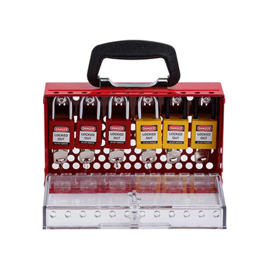 SlimView Group lock box red 150505