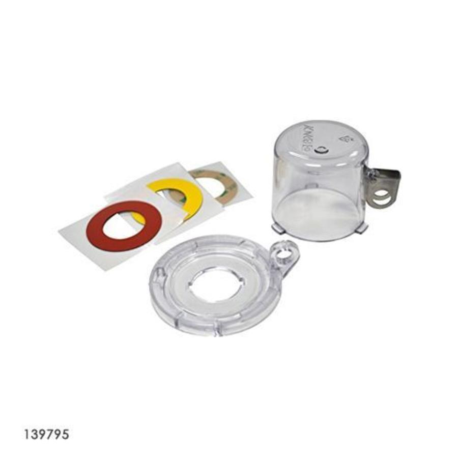 Push button safety cover 139793-139796