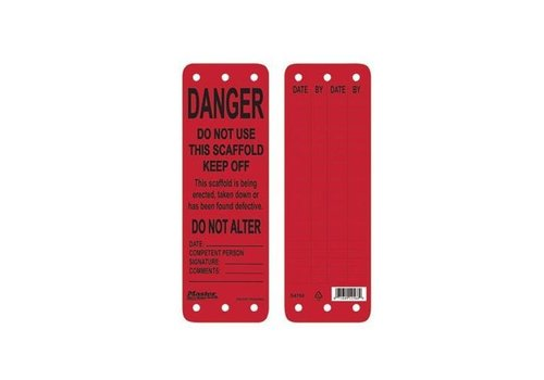 Scaffolding tags S4700-S4702