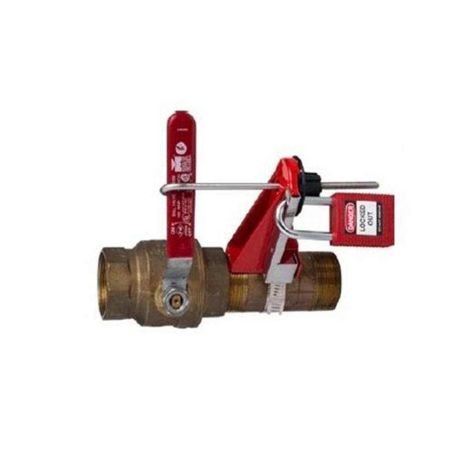 Perma-mount ball valve lock-out 121540-121541