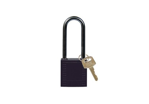Nylon compact safety padlock black 814135