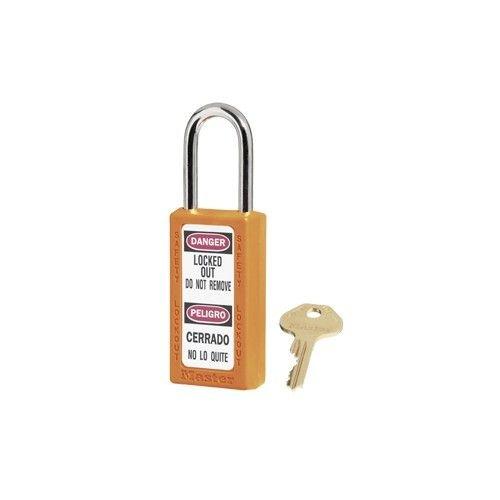 Zenex safety padlock orange 411ORJ - 411KAORJ