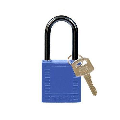 Nylon compact safety padlock blue 814124