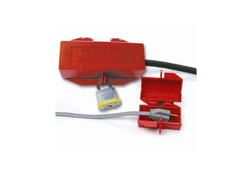 Lock-out device for plugs 065674-065675