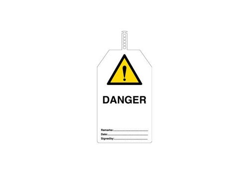 Safety tags English