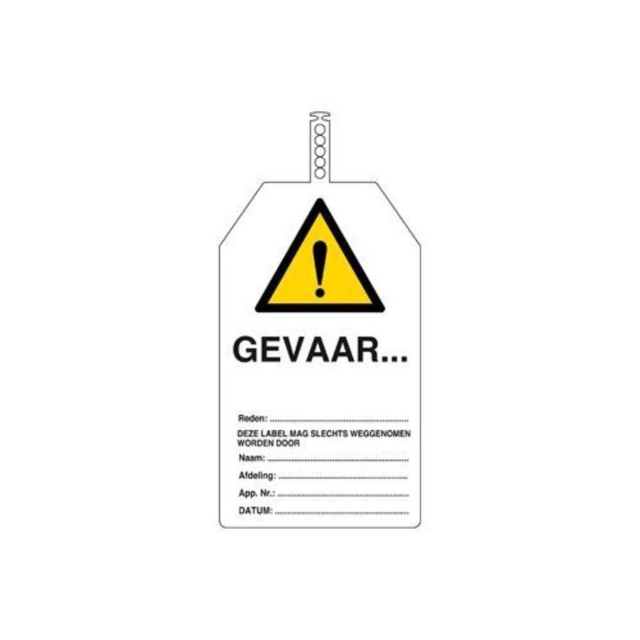 Safety tags Dutch