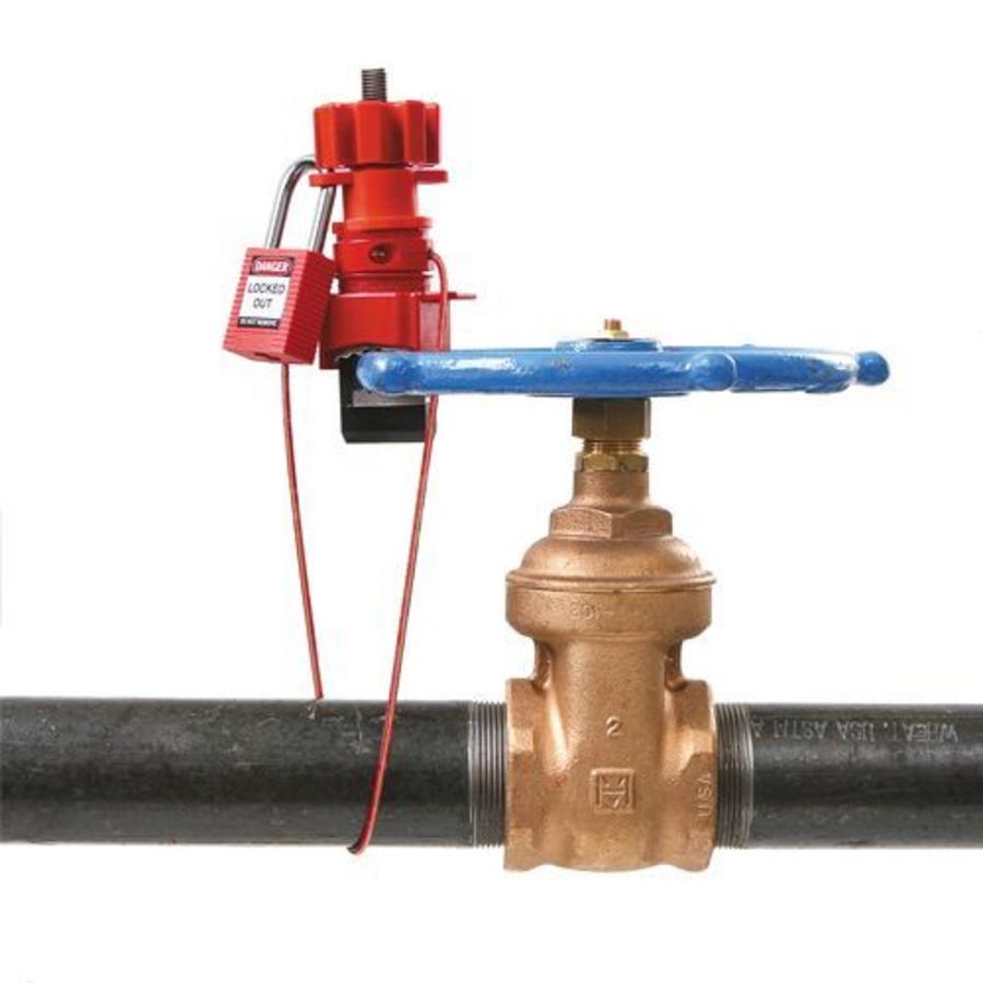Universal valve lockout (large) 050899