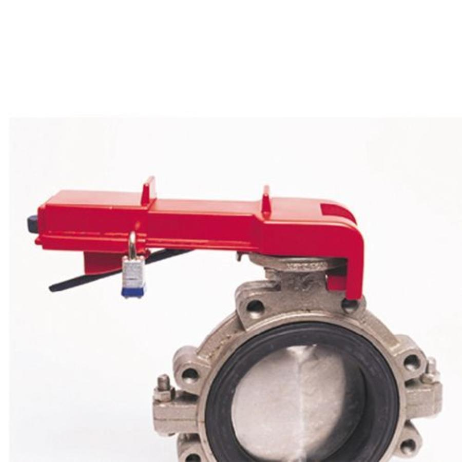 Butterfly valve lockout 256960