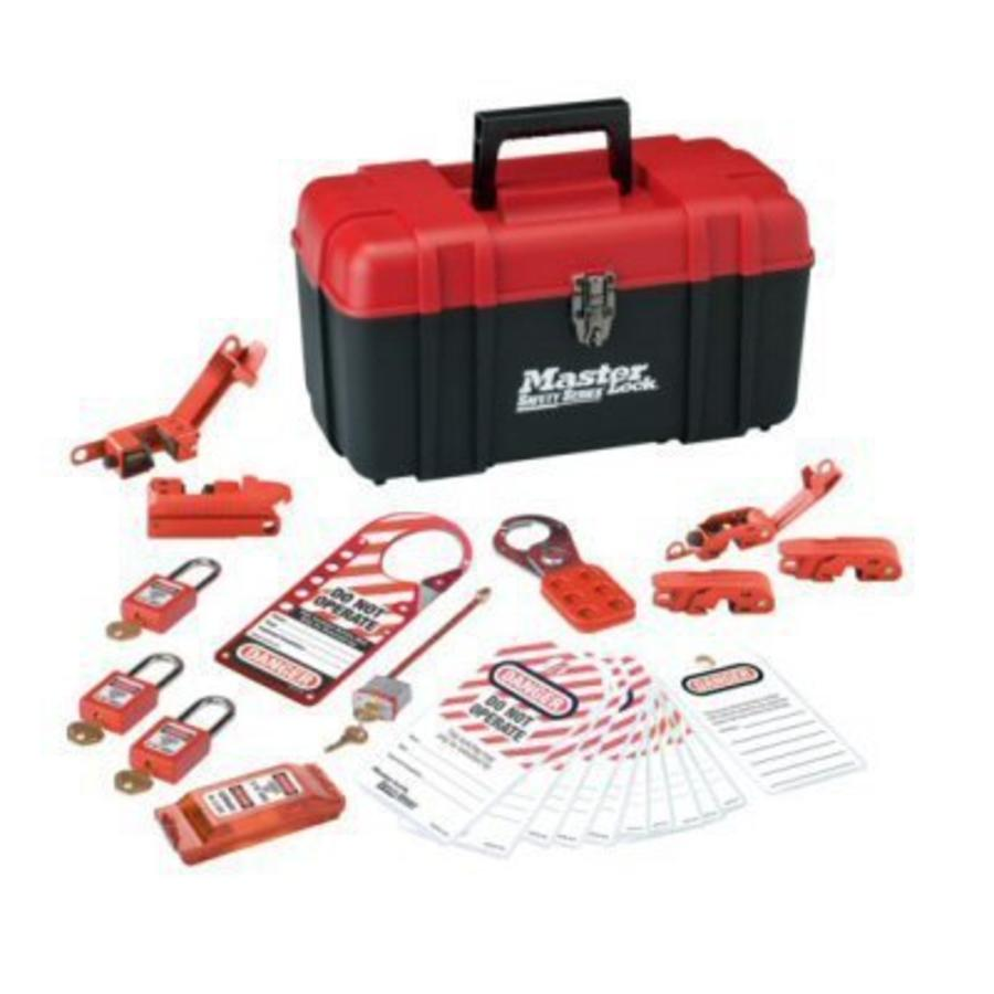 Filled lock-out toolbox S1117VES31KA