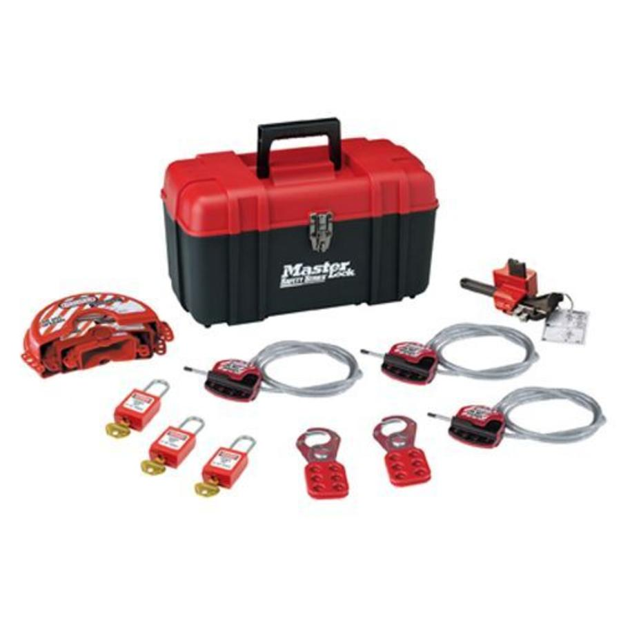Filled lock-out toolbox S1117VS31KA