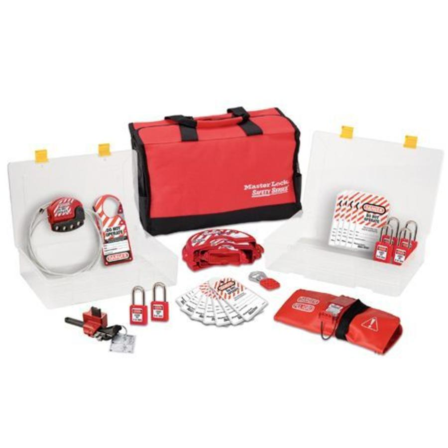 Filled lock-out toolbox 1458V410