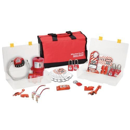 Filled lock-out toolbox 1458E410