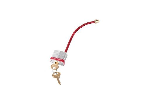 Padlock for circuit breakers 7C5RED