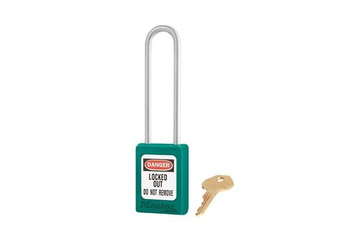 Zenex safety padlock teal S31LTTEAL