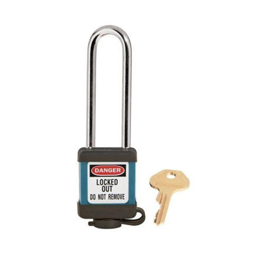 Zenex safety padlock teal 410LTTEAL