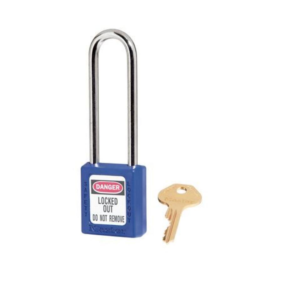 Zenex safety padlock blu 410LTBLU