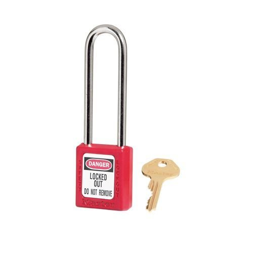 Zenex safety padlock red 410LTRED